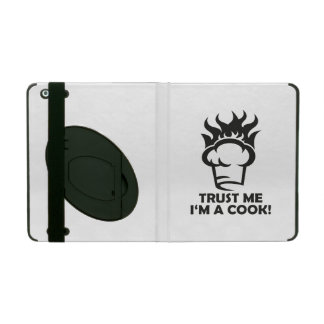 Trust me i'm a cook! iPad folio cover