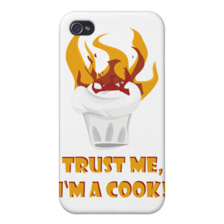 Trust me i'm a cook! iPhone 4 cover