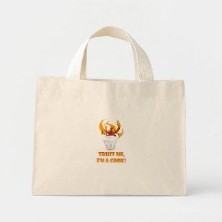 Trust me i'm a cook! mini tote bag