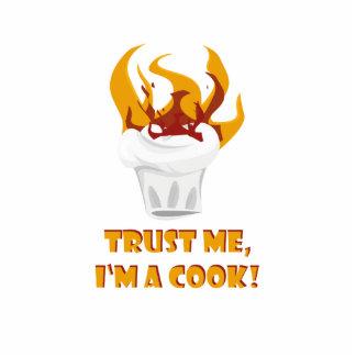 Trust me i'm a cook! photo sculpture magnet