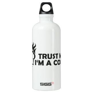 Trust me i'm a cook! water bottle