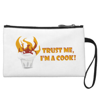 Trust me i'm a cook! wristlets