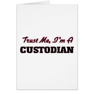Trust me I'm a Custodian Card