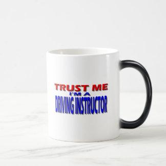 Trust Me I'm A Driving Instructor Magic Mug