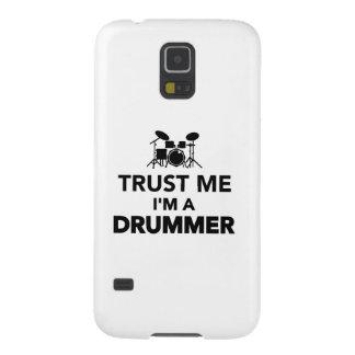 Trust me I'm a Drummer Galaxy S5 Case