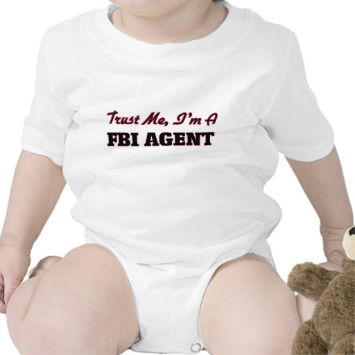 Trust me I'm a Fbi Agent Rompers