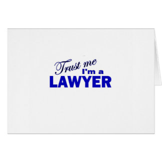 Trust Me I'm a Lawyer Card