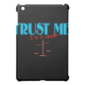 Trust Me I'm A Lawyer Scales Of Justice iPad Mini Cover