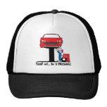 Trust Me I'm a Mechanic Funny Auto Mechanic Mesh Hat