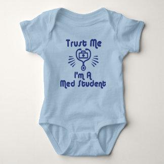Trust Me I'm a Med Student Baby Bodysuit