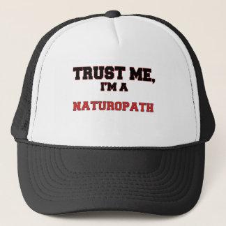 Trust Me I'm a My Naturopath Trucker Hat