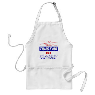 Trust Me, I'm a Notary Big Handshake Standard Apron