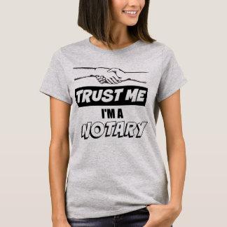 Trust Me, I'm a Notary Big Handshake T-Shirt
