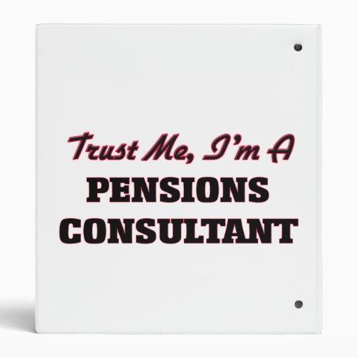 Trust me I'm a Pensions Consultant Binder
