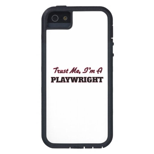 Trust me I'm a Playwright iPhone 5 Cover