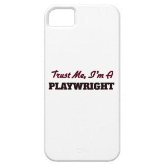 Trust me I'm a Playwright iPhone 5 Case