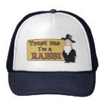 Trust Me - I'M A RABBI - Great Jewish humour Hats