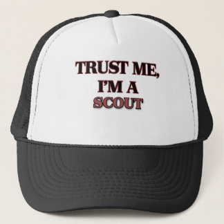 Trust Me I'm A SCOUT Trucker Hat