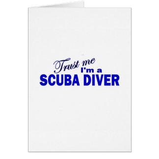 Trust Me I'm a Scuba Diver Card