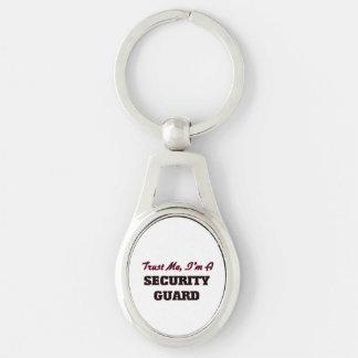 Trust me I'm a Security Guard Key Chains