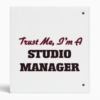Trust me I'm a Studio Manager Binder