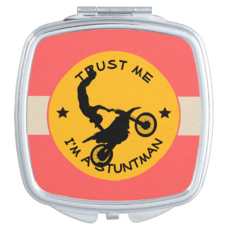 Trust me, I'm a stuntman Makeup Mirror