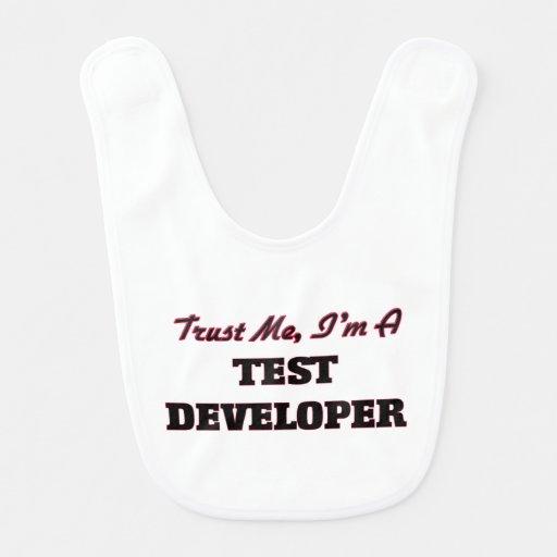 Trust me I'm a Test Developer Baby Bib
