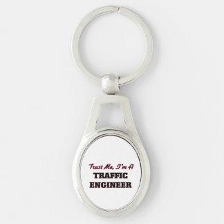 Trust me I'm a Traffic Engineer Key Chain