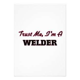 Trust me I'm a Welder Announcements