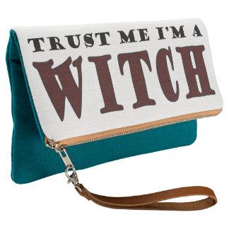 Trust me I'm a witch Clutch