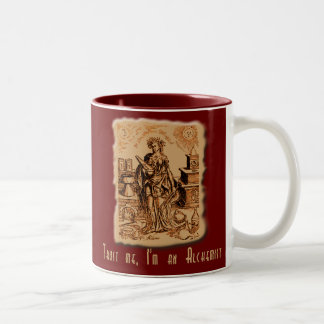 Trust Me I'm an Alchemist! Two-Tone Coffee Mug