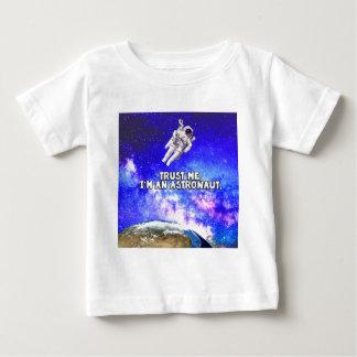 Trust Me I'm an Astronaut Baby T-Shirt
