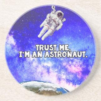 Trust Me I'm an Astronaut Coaster