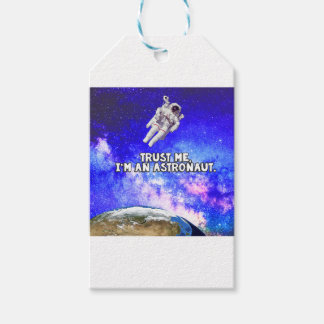 Trust Me I'm an Astronaut Gift Tags