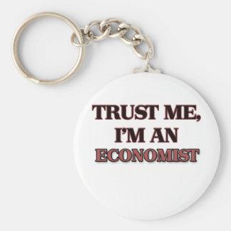 Trust Me I'm an Economist Keychain
