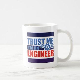 trust me i'm an engineer 3d.png mug blanc