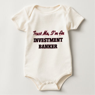 Trust me I'm an Investment Banker Baby Bodysuit