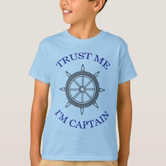 """Trust Me - I'm Captain"" T-Shirt"