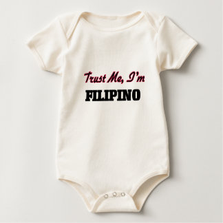 Trust me I'm Filipino Baby Bodysuit