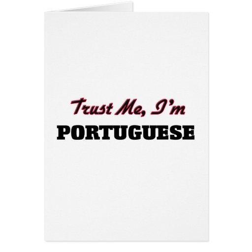 Trust me I'm Portuguese Cards
