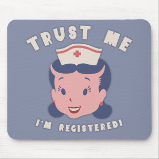 Trust Me - I'm Registered Mouse Pad