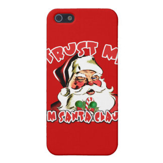 Trust Me I'm Santa Claus Tshirts iPhone 5 Cases