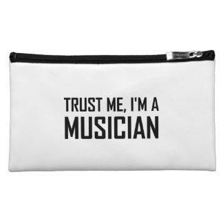 Trust Me Musician Cosmetic Bag