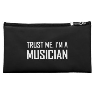 Trust Me Musician Makeup Bag