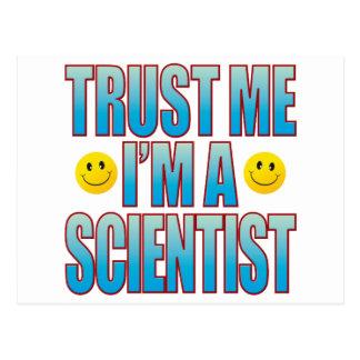 Trust Me Scientist Life B Postcard