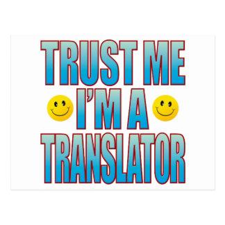 Trust Me Translator Life B Postcard