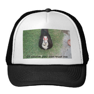 Trust me trucker hat