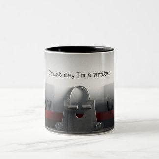Trust Me Typewriter Mug
