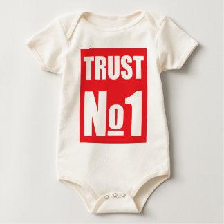 Trust no one baby bodysuit