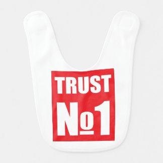 Trust no one bib